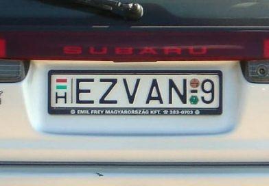 30 egyedi rendszám a magyar utakon, amire biztosan Te is felkapod a fejed